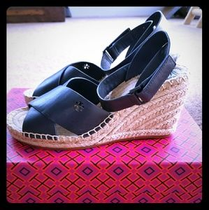 Tory Burch Bima wedge espadrilles